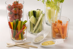 Crudites salad. Stock Photo