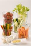 Crudites salad. royalty free stock images