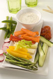Crudites salad. Stock Photos
