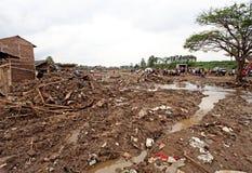 Crue subite de catastrophe de l'Indonésie - Garut 047 Images libres de droits