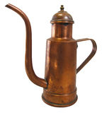 Cruet copper Royalty Free Stock Images