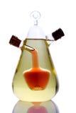 Cruet do petróleo e do vinagre Imagem de Stock