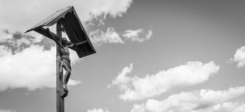 Crufix tradizionale nella regione di Dolomiti - Italia Fotografie Stock