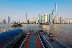 Cruis Ships in Shanghai, China. Stock Image