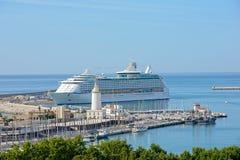 Cruise. In Malaga, Andalucia, Spain Stock Image