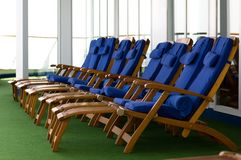 Cruise. Luxury cruise ship onboard view Stock Photo