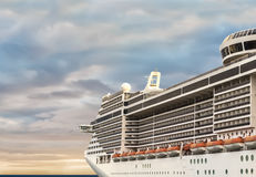 Cruise. Traveling to a wonderful holiday Royalty Free Stock Images