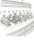 Cruise royalty-vrije illustratie