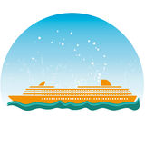 Cruise stock illustratie