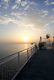 Cruise in the Adriatic Sea Stock Photography