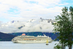 Cruise Alaska Stock Afbeelding
