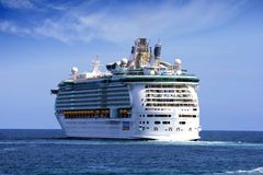 Cruise Arcadia. ALICANTE, SPAIN - OCTOBER 20: The cruise Independence of the Seas start his travel from Alicante to Greece.  This magnificent ship has every Stock Photo