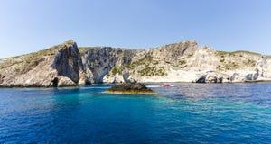 Cruise around Zakynthos Royalty Free Stock Photography