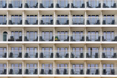 Cruise balcony pattern Stock Photos
