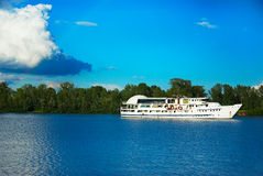Cruise boat Stock Photography