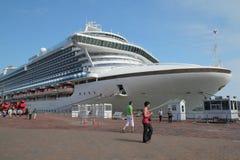 Cruise boat Stock Photo