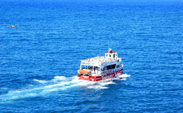 Cruise boat Royalty Free Stock Photography