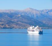 Cruise boat, greece stock photos