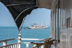 Cruise boat on Halong bay. Vietnam Stock Image