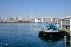 Cruise boat in Tokyo, Japan Stock Photo