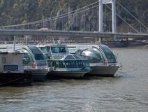 cruise-boats Royalty Free Stock Images