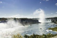 Cruise boats  nearby the Niagara falls Royalty Free Stock Photos