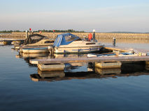 Cruise boats on the river Shannon Ireland Stock Photo
