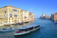 Cruise boats,Venice Italy Stock Photography