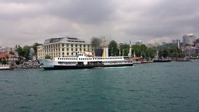 Cruise on the Bosphorus, Istanbul, Turkey Royalty Free Stock Photography