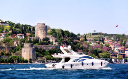 Cruise on Bosporus Royalty Free Stock Photo