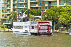 Cruise with Carrie B paddlewheel Stock Photography