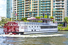Cruise with Carrie B paddlewheel Royalty Free Stock Photography