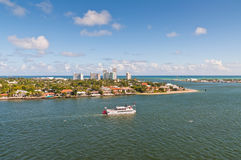 Cruise with Carrie B paddlewheel riverboat in Fort Lauderdale Royalty Free Stock Photos