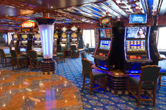 Cruise casino Royalty Free Stock Photos
