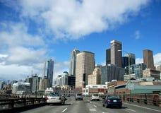 A Cruise through the City Stock Image