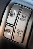 Cruise control buttons Stock Images