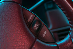 Cruise Control Panel Stock Photography