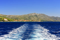 Cruise Croatia Royalty Free Stock Photography