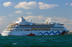 Cruise cruise shipping Aida Aura Royalty Free Stock Photos