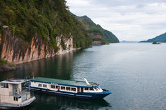 Cruise in Dam. Of Thailand image Stock Photography