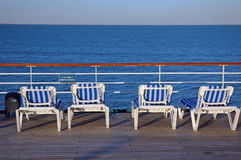 Cruise Deck Four royalty free stock photography