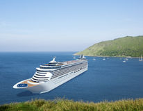 Cruise Destination Ocean Summer Island Concept Royalty Free Stock Photos