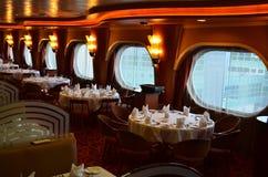 Cruise dining stock photo
