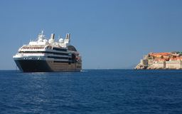 Cruise in Dubrovnik Stock Photography