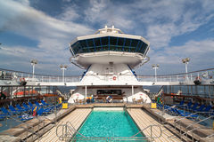 Cruise facilities Stock Photo