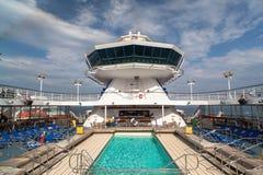 Cruise facilities Stock Photo