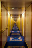 Cruise ferry corridor Royalty Free Stock Images
