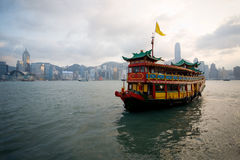 Cruise ferry in Hong Kong Stock Photo