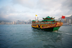 Cruise ferry in Hong Kong Stock Images
