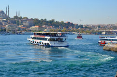 Cruise ferry Royalty Free Stock Images